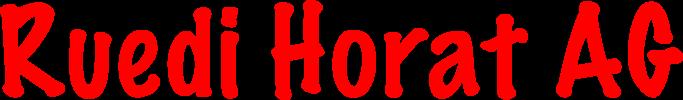 Ruedi Horat AG_Logo
